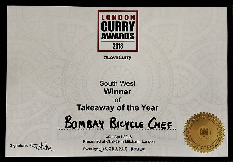 Bombay Bicycle Chef